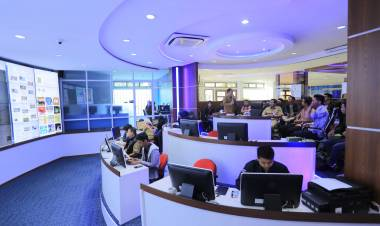 Intip Smart City, Mahasiswa IT Sambangi LIVE ROOM