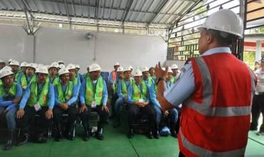 Berstandar SNI, 125 Warga Lapas Kelas I Tangerang Dapat Pelatihan Konstruksi