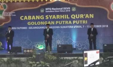 Walau Gagal Gondol Juara Umum, Peserta MTQ Banten Dijanjikan Kadeudeuh dan Umroh