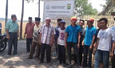 Ratusan Warga Pakuhaji Tangerang Terisolasir Akibat Jalan Ditutup