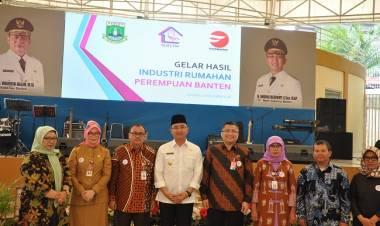 Si Jelita Diluncurkan, Wagub Optimis Perempuan Banten Mampu Stabilkan Perekonomian Daerah