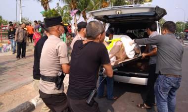 Sesosok Mayat Tanpa Identitas Ditemukan Mengambang di Kali Cisadane