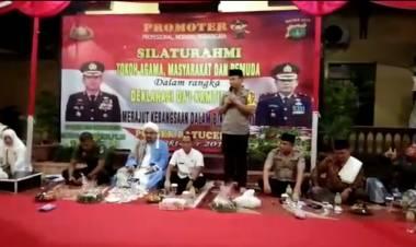 Polrestro Tangerang Roadshow Deklarasikan Kamtibmas Pilpres Tolak Hoax