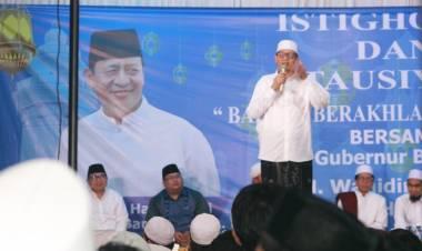 Bersama Ustadz Adi Hidayat, WH Gelar Istighotsah Bertajuk Banten Berahklakul Karimah