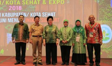 Menkes: Kota Tangerang Layak Sandang Kota Sehat!