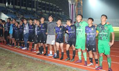 Laskar Cisadane Muda Rebut Emas Sepakbola Porprov V