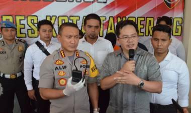Sering Dibegal, Polresta Tangerang Sarankan Taksi Online Dipasang Kamera CCTV dan Panic Button