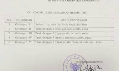 Supir Siap Gigit Jari, Bupati Tangerang Batasi Operasional Truk Barang