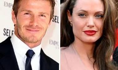 Diam-diam Angelina Jolie Rusak Rumah Tangga Beckham