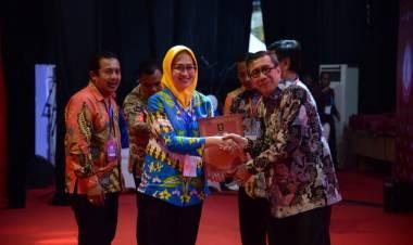 Pemkot Tangsel Raih Penghargaan Kota Peduli HAM