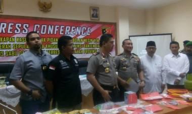 Sabu 2,5 Kg Untuk Pesta Tahun Baru Diamankan dari Mal Bintaro Jaya Exchange