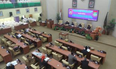 Sering Dianggap Malas, DPRD Kab Tangerang Sahkan 7 Perda Sekaligus