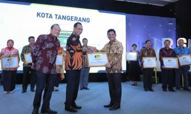 Pemkot Tangerang Raih Award Pelopor Berkeselamatan, Warga : Gimana Ceritanya.?