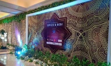 Mewahnya Pesta Opick-Bebi Silvana, Istri Pertama Minta Doa untuk Anak