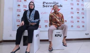 KPU Kota Tangerang Terima Kotak Suara 'Kardus'