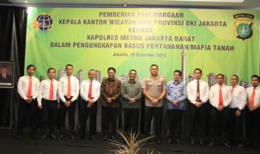 Ungkap Kasus Mafia Tanah, 15 Anggota Polres Jakbar Raih Penghargaan