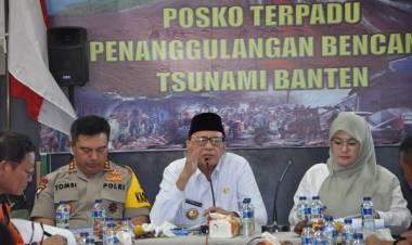 Ini yang Dikerjakan Pemrov Banten Pasca Bencana, Mulai Bayar Tagihan Berobat, Bikin Huntara Sampai Renovasi Sekolah