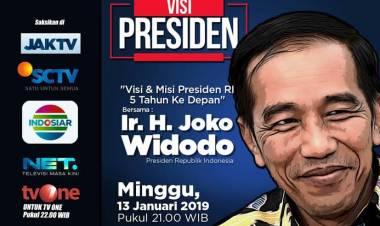 Visi Misi Jokowi Diduga Langgar Kampanye, Pengamat : Cek Aja Tagihan Siarannya
