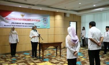 Lantik 2 Pejabat Fungsional, Airin Berpesan Soal Integritas dan Target Kerja