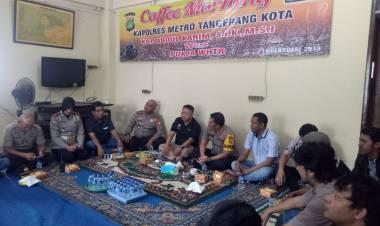 Antisipasi Banyak Hoax di Kota Tangerang, Kapolrestro Tangerang Sinergi Dengan Pers