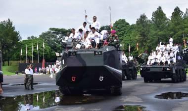 Dankor Marinir Sandang Sabuk Hitam DAN 5 Inkai