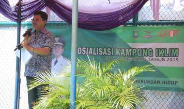 Hadapi Perubahan Iklim, Pemkot Tangerang Sebar 50 Kampung Iklim