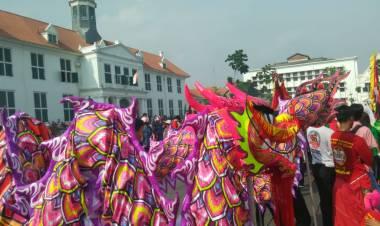 Puluhan Personil Dishub Jakbar Siap Urai Kemacetan Saat Perayaan Cap Go Meh