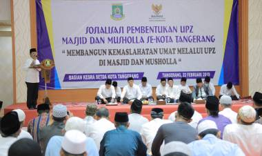 Ribuan Pengumpul Zakat Ditargetkan Pemkot Tangerang Ada Diseluruh Masjid