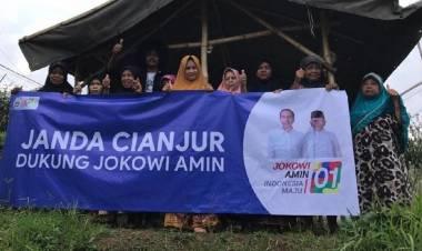 Dianggap Kerja Nyata, Janda-janda di Cianjur Dukung Jokowi-Ma'ruf