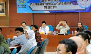 80 Pemuda Kota Tangerang Siap Bersaing Dalam Seleksi Pertukaran Pemuda