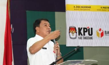 Desk Pemilu Kabupaten Tangerang Gelar Rakor Persiapan Pemilu 2019