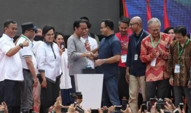 MRT Diresmikan, Anies Angkat Topi Buat Jokowi, Ahok Hingga Djarot