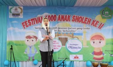 Ingin Generasi Agamis, Airin Buka Festival Anak Soleh