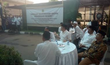 Bukber Bareng Ulama, Gubernur Ajak Ciptakan Banten yang Aman dan Damai