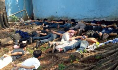 Puluhan ABG Ciputat Diborgol Polisi, Imbas Keroyok Peserta SOTR