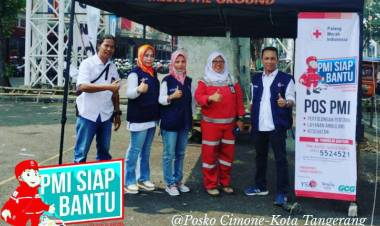 Dear Pemudik, PMI Kota Tangerang Buka Posko Mudik Lebaran 2019