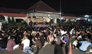Mau Tawuran di Puspemkot Tangerang, Ratusan ABG dari Depok dan Tangsel Diamankan Jelang Sahur