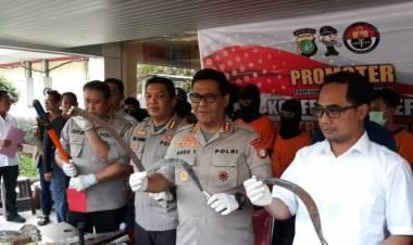 Saling Ejek via Medsos, Gadis 16 Tahun Pimpin Tawuran di Sepatan Tangerang