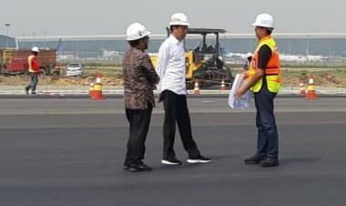 Jokowi Sebut Runway 3 Bandara Soetta Beroperasi Juli, Pergerakan Pesawat Tambah 50 Persen