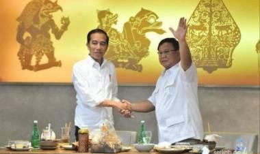 Jokowi Prabowo Cipika-Cipiki, Jari 98: yang Nyinyir Pusing Cari Pemodal Demo Lagi