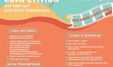 Sambut HUT, KNPI Kota Tangerang Gelar Lomba Video Kreatif