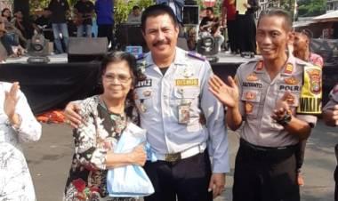 Meriahkan HUT RI ke 74, Terminal Kalideres Gelar Santunan Anak Yatim