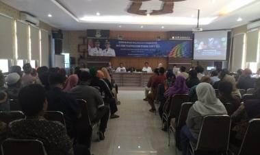 DPMPTSP Kota Tangerang Gelar Sosialisasi Pelayanan Perizinan Dan Forum Konsultasi Publik