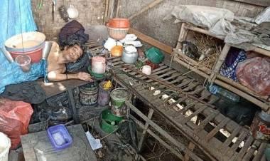 Pemkab Tangerang Gerak Cepat, Rumah Kakek Lumpuh Tinggal di Kandang Ayam Dibedah