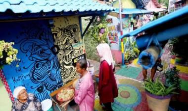 Manfaat Kampung Tematik Bidang Ekonomi : Kesejahteraan Warga Meningkat, Banyak Usaha Baru Muncul