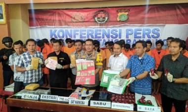 Polrestro Tangerang Panen Pengedar Narkoba, Hampir 17 Ribu Jiwa Terselamatkan