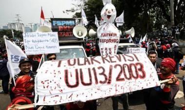 Buruh Ngotot Naik Upah, Apindo Kota Tangerang Ancam Pindahkan Pabrik