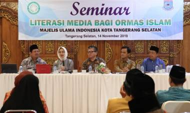 Ngeri Sebaran Hoax, Ormas Islam Tangsel Diajak Seminar Literasi Media