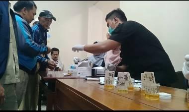Ngeri Narkoba, Ratusan Pegawai DLH Kota Tangerang Tes Urine