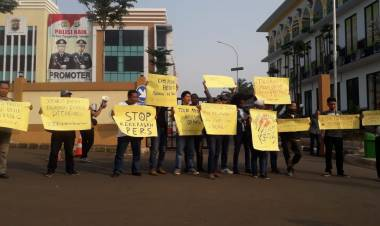 Didemo Wartawan, Polres Tangsel Janji Buru Oknum Anggota FBR Pelaku Pengeroyokan